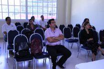 Presentan proyecto de investigación ante la comunidad universitaria.