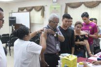 Docentes y Estudiantes en Vacunación