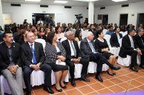 amiliares, amigos y miembros de la comunidad universitaria acompañaron a la Ing. Gutiérrez, en el evento.