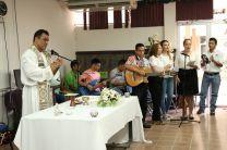 Misa de Acción de Gracias.