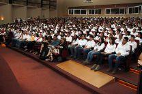 Imposición de Cascos Ingenieriles, evento de la Facultad de Ingeniería Civil.