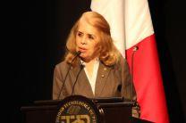 Arquitecta María Lombardo Sánchez, Presidenta de la SPIA.