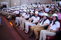 Estudiantes de tercer año, de las Carreras de Ingeniería Industrial e Ingeniería Mecánica Industrial.