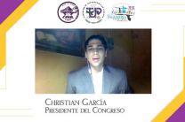 Presidente del Congreso de la FIC, Christian García.
