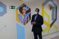 Ingeniero y pintor, Ricardo Cerezo.