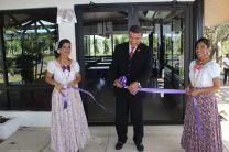 Inauguración de las mejoras a la cafetería del Centro Regional.