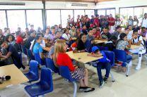La cafetería contará, entre otras, con nuevas sillas para 100 personas.