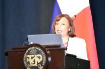Ing. Marina Saval de Guerra, Vicedecana de la FIC.