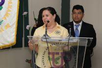 Ing. Ericka Peñalba, docente del Curso de Gestión de Calidad I.