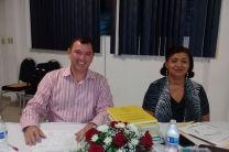 Profesores asesores y responsables de los trabajos de investigación: Ing. Yaneth Gutiérrez y el Ing. Francisco Arango.