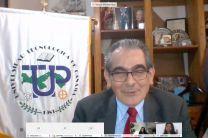 Ing. Héctor M. Montemayor Á., Rector de la UTP, participa del evento.