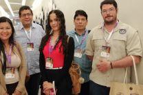 Ing. Jaime González, Dr. Reinhartd Pinzón, Dra. Nathalia Tejedor. Dr. José Fábrega expositores en el Congreso