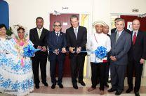Inauguración del Laboratorio Especializado, donado por el Banco General.
