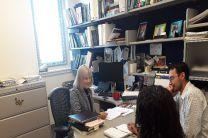Reuniones con profesores del Programa de Ingeniería Ambiental, jefes y directores de la Facultad de Ciencias e Ingeniería, de la Universidad de Wilkes.