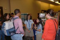 En la Feria del Ingenio Juvenil 2017- Hotel Wyndham, Albrook con los mentores