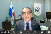 Rector de UTP, Ing. Héctor Montemayor, participa del Lanzamiento.