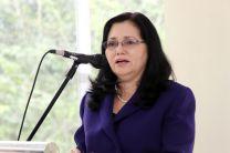 Dra. Casilda Saavedra, en Representación del Rector de la Universidad Tecnológica de Panamá.