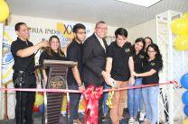 Los estudiantes estuvieron acompañados por docentes asesores y el Decano de la FII, Dr. Israel Ruíz.