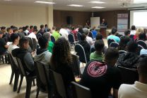 El acto de lanzamiento del proyecto contó con la participación de unos 80 invitados.