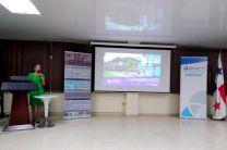 La Dra. Yessica Sáez, presentó los proyectos que desarrolla el Grupo ITSIAS.
