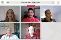 Los expositores del webinario fueron docentes e investigadores exbecarios de IFARHU y SENACYT.