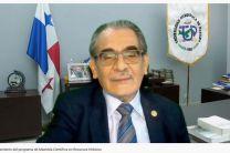 Rector de UTP, Ing. Héctor Montemayor.