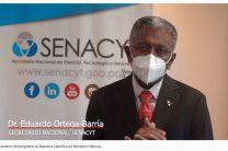 Dr. Eduardo Ortega Barría, Secretario Nacional de Ciencias, Tecnología e Innovación (SENACYT)