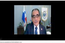 Ing. Héctor Montemayor, Rector de la UTP dio las palabras de inauguración.