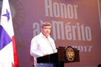 El Rector de la UTP, Dr. Oscar Ramírez hizo énfasis en la excelencia educativa.