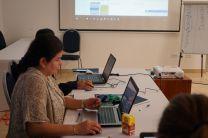 Mgtr. Iris Arjona, responsable del proyecto RLA0057 Ampliando la Educación, Entrenamiento, Extensión y Gestión del Conocimiento Nuclear.