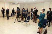 Autoridades, docentes y administrativos participaron de la misa.
