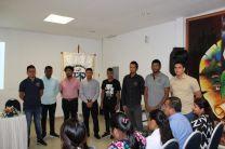 Estudiantes que colaboran en el Proyecto MOVIDIS-II de los Centros Regionales de Coclé y Azuero.