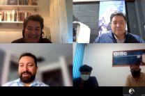 Arriba Dr. Héctor Montes arriba derecha Ing. Ing. Edesio Pérez, abajo Erick Rodríguez, abajo derecha Licdo. Rafael Vejarano y Licdo. Samuel Sánchez