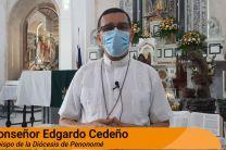 Invocación religiosa a cargo de Monseñor Edgardo Cedeño, Obispo de la Diócesis de Penonomé.