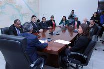A la toma de posesión asistieron Vicerrectores y otras autoridades de la UTP.