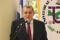Vicerrector Académico Encargado, Dr. Julio Rodríguez.
