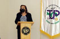 Ing. Vivian Valenzuela, Vicerrectora de Vida Universitaria de la UTP.
