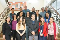 Participantes del Taller Uso de la Hidrología Isotópica.