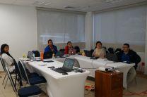 Salón de reuniones de la Vicerrectoría de Investigación, Postgrado y Extensión.