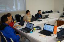 Imagen del Personal del Centro de Investigaciones Hidráulica e Hidrotécnicas (CIHH), se preparan para el uso del  programa Articulate 3.