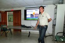 Presentación de política integrada AES Panamá, por el Ing. Evidelio Serrano.