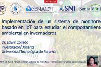 Presentación del Dr. Edwin Collado de la UTP Azuero.