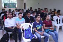Estudiantes de las diferentes carreras de la Facultad de Ingeniería Civil.