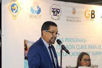 El Dr.  Alexis Tejedor, Vicerrector de Investigación, Postgrado y Extensión.