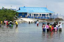 El campamento se desarrolló en las instalaciones del Laboratorio Marino de Punta Galeta.