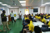 En este campamento participaron estudiantes de diferentes colegios de la provincia de Colón.