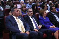 El Rector Dr. Oscar Ramírez y el Rector Electo, Ing. Héctor Montemayor.