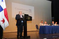 Decano Encargado de la Facultad de Ingeniería Mecánica, Ing. Jaime Contreras.