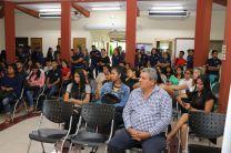 Comunidad Universitaria que participó del Lanzamiento.
