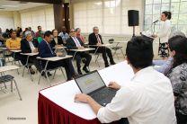 Los pares hicieron su presentación ante autoridades y docentes de la UTP.